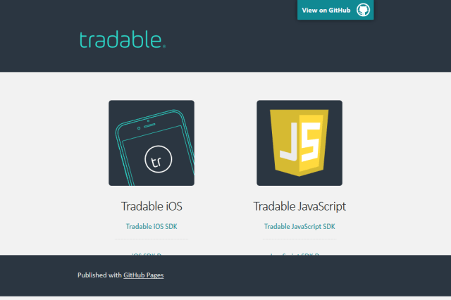 Tradable API