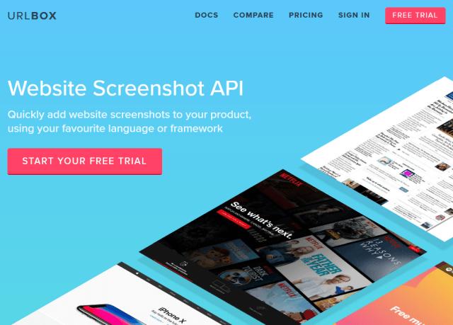 Urlbox API