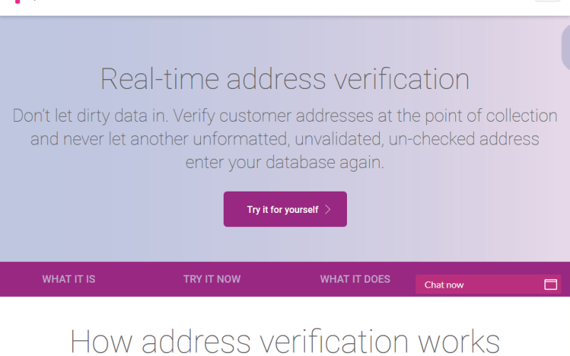 Experian Data Quality Address Validation API