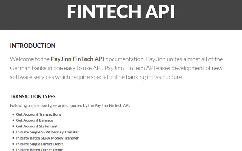 PayJinn API