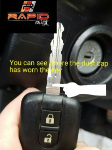 Nissan Key Stuck In Ignition