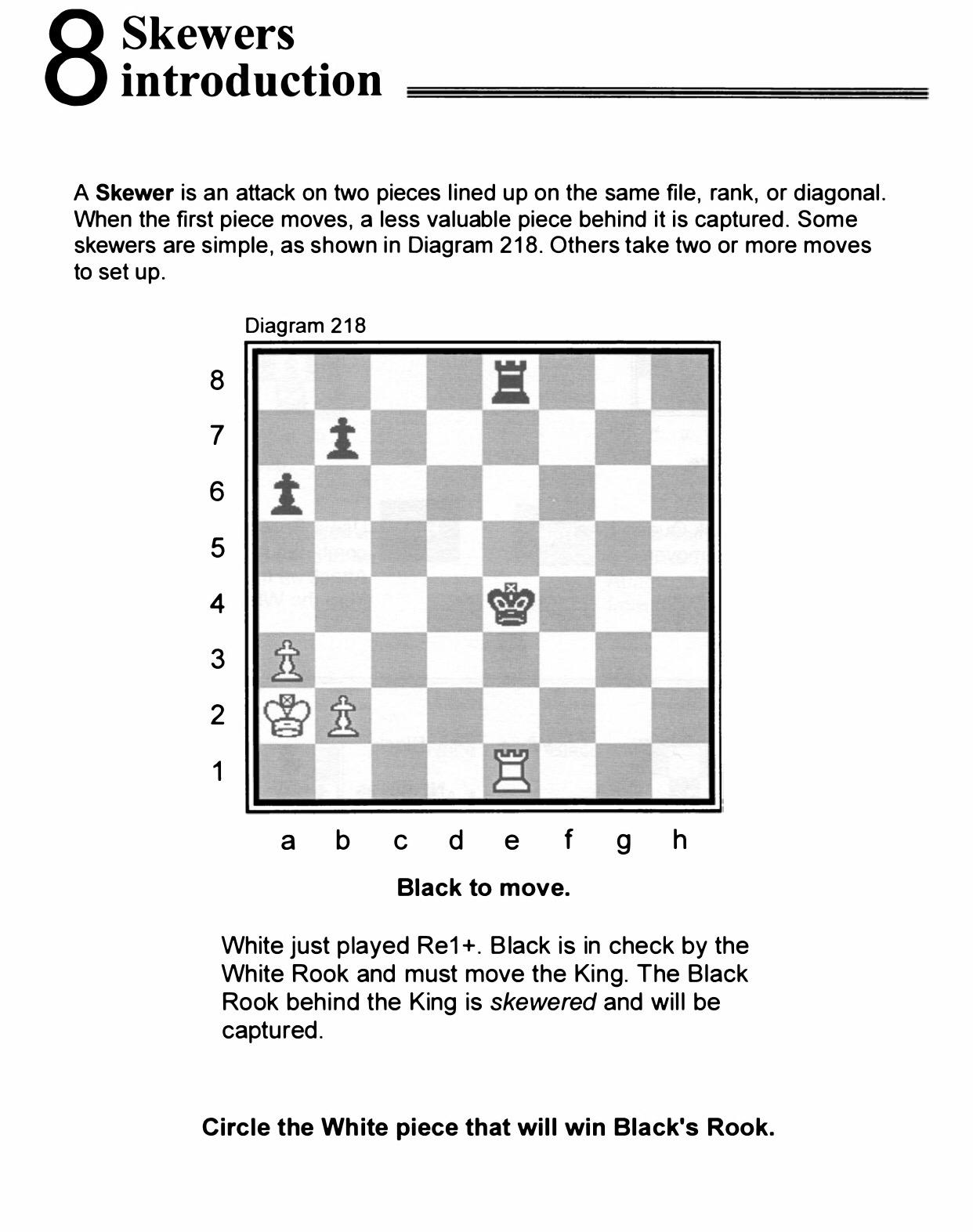 Chess Homework Homepage
