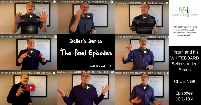 Tristan and his WHITEBOARD Seller Video Series Closing Day