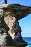 Pictured Rocks - Chapel Rock-keyhole-1