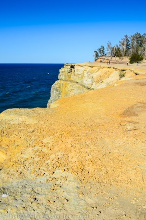 Pictured Rocks Lakeshore-Grand Portal Point-2