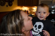 My sister Steph and our nephew Mark