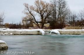 Elk Rapids spillway