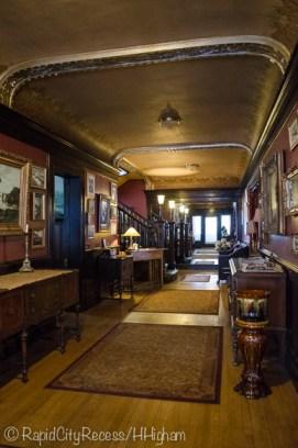 Laurium Manor Inn entryway