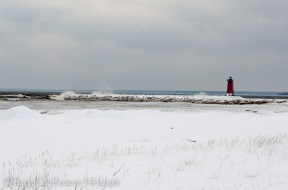 Manistique Lighthouse from the east