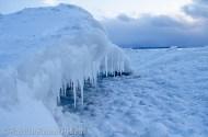 Ice shelf igloo
