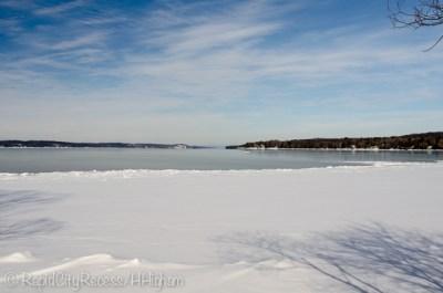 Torch Lake at noon