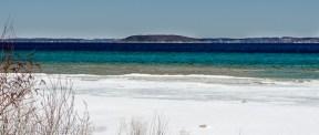Power Island from the Leelanau Peninsula