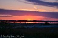 OMP sunset