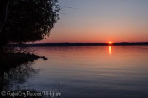 Torch sunset
