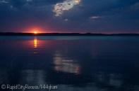 Torch Lake tropical sunset-2