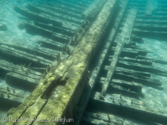 Metropolis shipwreck