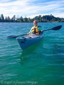 Blondie kayaking-2