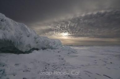 ice escarpment