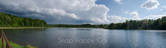 Storm over Rugg Pond