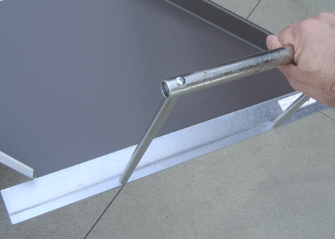 JS Design Hemming Tool for Metal Roof Panels from RapidMaterials