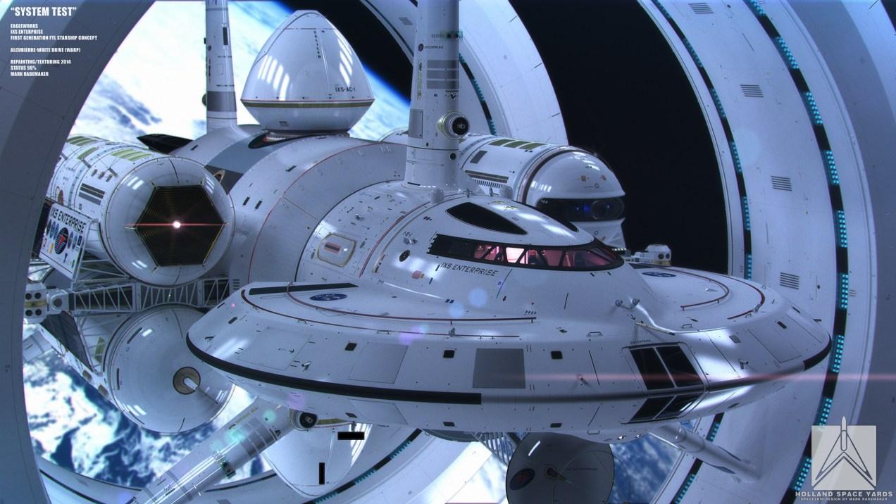 NASAs design for a warp drive ship Rapid Notes