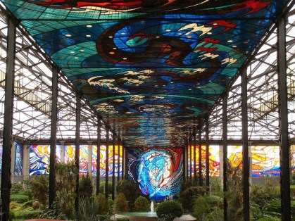 The Cosmovitral in Mexico