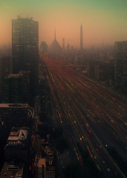 Evgeny Kazantsev -- Elevated Freeways