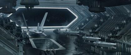 Star Destroyer hangar deck