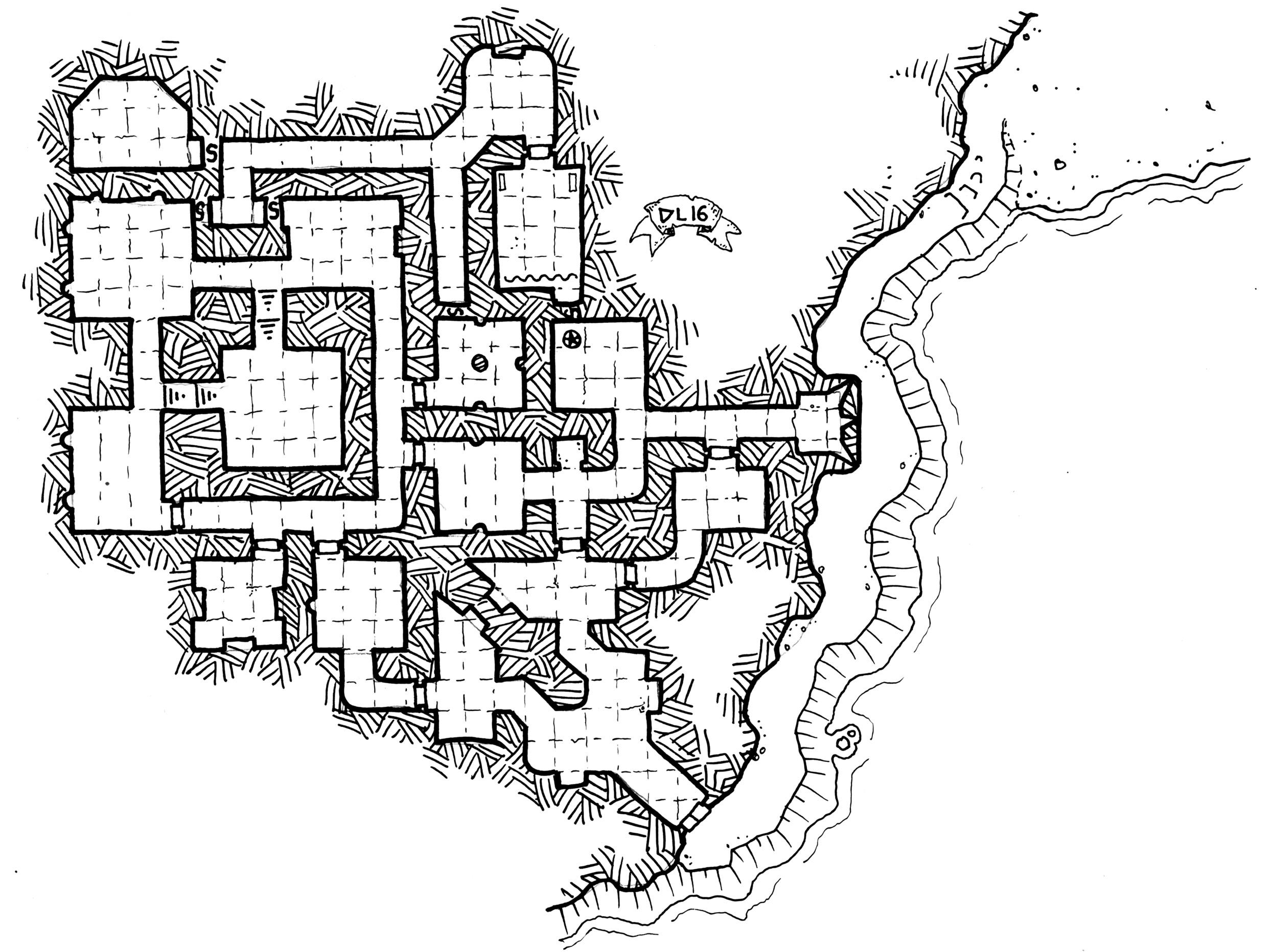 A Castle Map