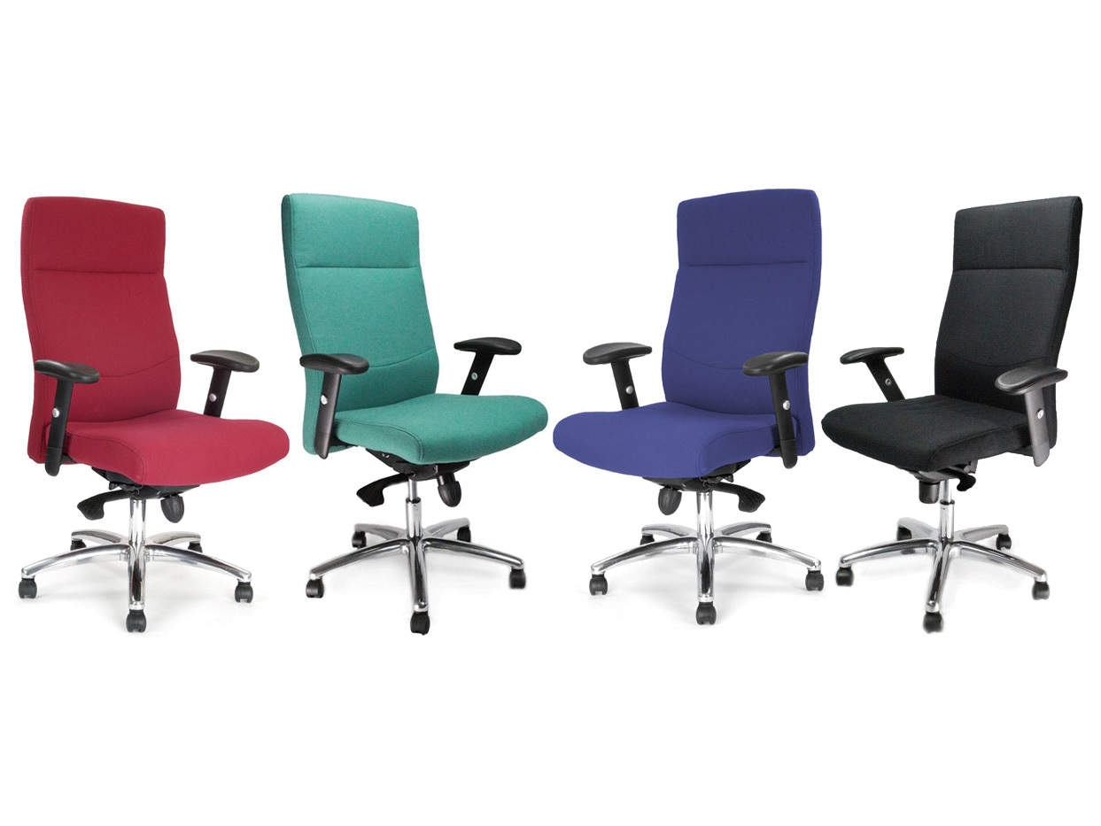 Jester Fabric High Back Office Executive Chair Rapid Office Furniture