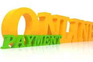 online payment 3d text