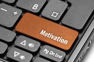 Motivation. Orange hot key on computer keyboard