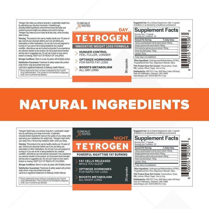 tetrogen ingredients