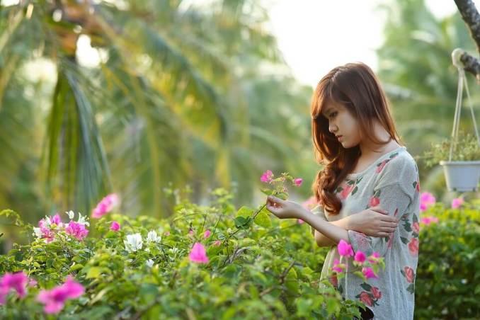 person, plant
