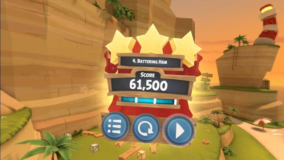 Angry Birds Isle of Pigs VR Oculus Quest