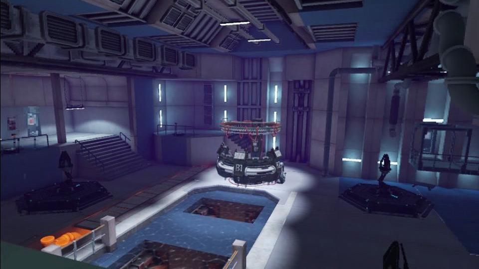 Apex Construct Oculus Quest industrial interior