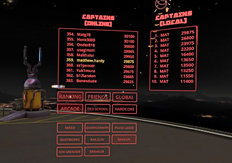 space pirate trainer leaderboard