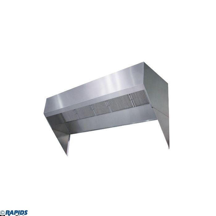econ air low proximity 10 commercial shelf hood exhaust only