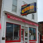 Iowa weekend: the oldest ice cream parlor/soda fountain in the world
