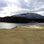 Stone Mountain, Georgia: Confederate bas-relief and 'Just Hit It'