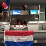 AA's inaugural MIA-ASU (Asunción, Paraguay) flight party