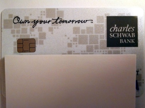 Charles Schwab Debit Card with EMV Chip