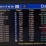 My United Strategy Success with Chicago's Air Traffic Logjam Today