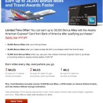 BofA Asiana Amex 25k-38k Bonus Offer