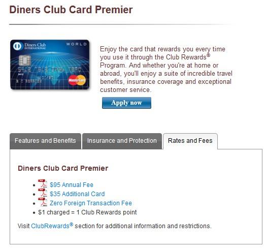 Diners Club Premier