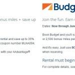 Stacking AA Rental Car Bonuses for Avis Budget