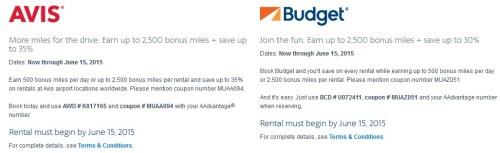 AA Avis Budget Coupon