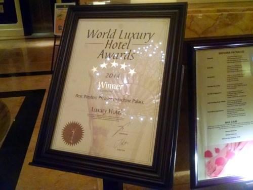 Best Western Hue Award