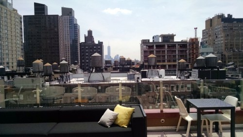 Cambria Suites Chelsea Rooftop Bar