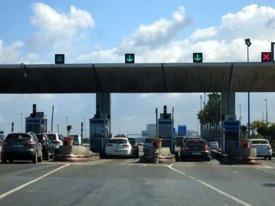 Moroccan Highway Toll Booth
